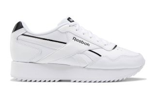 Reebok ROYAL GLIDE RIPPLE DOUB BIANCO NERO DONNA G55771