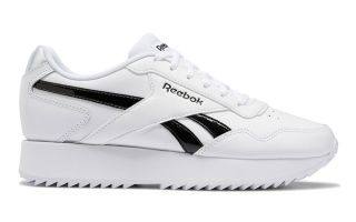 Reebok ROYAL GLIDE RIPPLE DOUBLE BIANCO NERO DONNA G58088