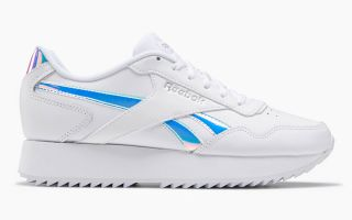 Reebok ROYAL GLIDE RIPPLE DOUB BIANCO METALLIZZATO DONNA G58091