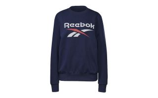 REEBOK SWEATSHIRT IDENTITY LOGO BLUE FOR WOMEN