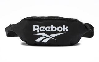 REEBOK FANNY PACK CLASSICS FOUNDATION BLACK