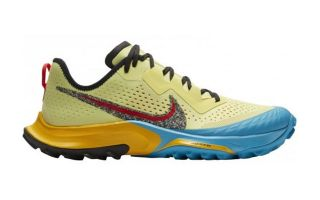 Nike AIR ZOOM TERRA KIGER 7 YELLOW BLUE