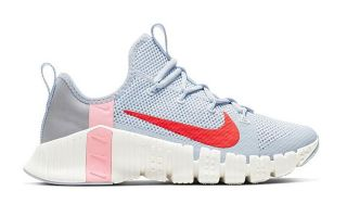 Nike NIKE FREE METCON 3 GRIS ROSA MUJER CJ6314 006