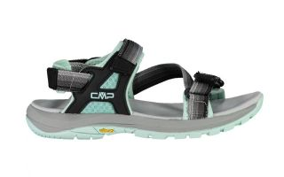 CMP SANDALS WIDE HIKING BLACK BLUE WOMEN'S