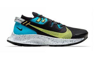 Nike NIKE PEGASUS TRAIL 2 NEGRO AZUL MUJERCK4309