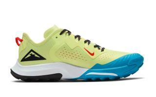 Nike NIKE AIR ZOOM TERRA KIGER 7 AMARILLO  AZUL CW6066 300 MUJER