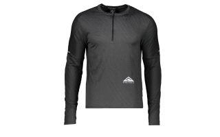 Nike CAMISETA DRI-FIT ELEMENT NEGRO GRIS