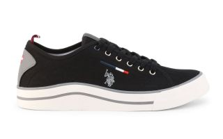 US POLO ASSN WAVE150 CANVAS NERO CANVAS-BLK