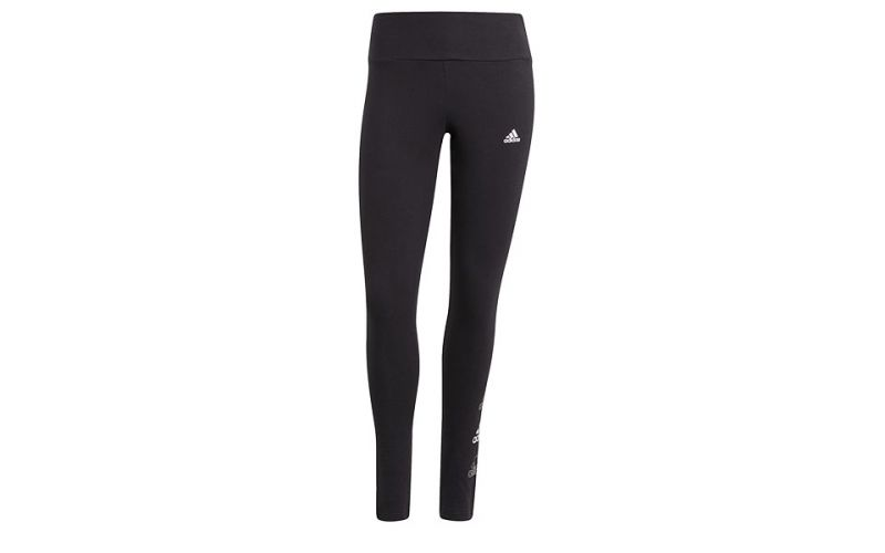 Mallas Essentials Stacked Logo High-rise Negro Mujer