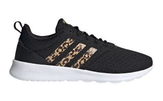 adidas QT RACER 2.0 NEGRO BEIGE MUJER FY8247