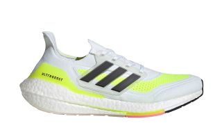 adidas ULTRABOOST 21 WHITE YELLOW