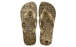 Havaianas TONGS TOP ANIMAUX DORE