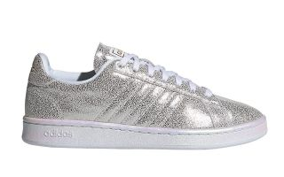 adidas GRAND COURT  BLANCO PLATA MUJER FY8951