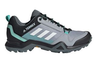 adidas TERREX AX3 GRIS BLANC FEMME FX4690
