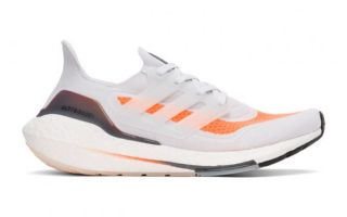 adidas ULTRABOOST 21 GREY ORANGE