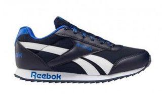 Reebok ROYAL CLASSIC JOGGER 2 BLUE WHITE JUNIOR