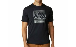 Columbia T-SHIRT ZERO RULES NERO