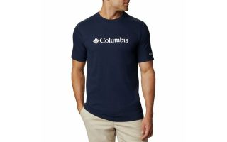 Columbia T-SHIRT CSC BASIC BLU NAVY