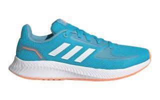adidas RUNFALCON 2.0 BLUE WHITE JUNIOR