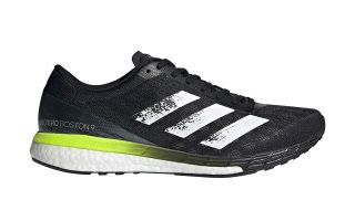 adidas ADIZERO BOSTON 9 NEGRO BLANCO