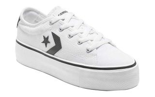 Converse STAR REPLAY PLATFORM WHITE WOMEN