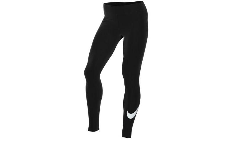Mallas Sportswear Essential Negro Mujer