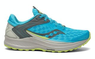 Saucony CANYON TR2 AZUL GRIS MUJER S10666 30