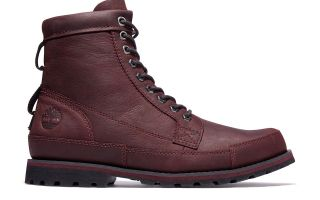 TIMBERLAND ORIGINALS II LEATHER 6IN ROJO VINO TB0A2GPSC601