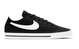 Nike COURT LEGACY CANVAS NEGRO BLANCO CW6539 002