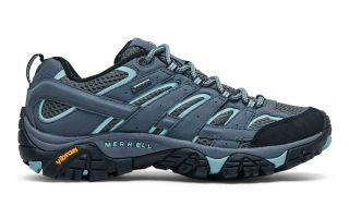 Merrell MOAB 2 GTX BLEU NOIR FEMME J06036