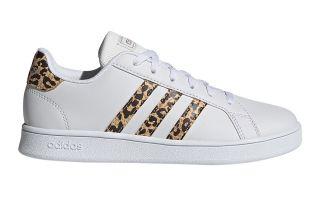 adidas GRAND COURT WHITE GOLDEN GIRL