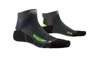 X-Socks CALCETIN RUN DISCOVERY NEGRO VERDE