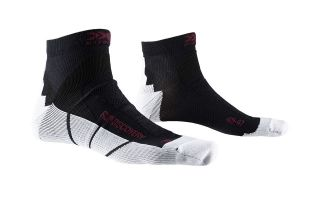 X-Socks CALCETIN RUN DISCOVERY NEGRO GRIS