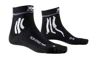 X-Socks CALCETIN RUN SPEED TWO NEGRO BLANCO