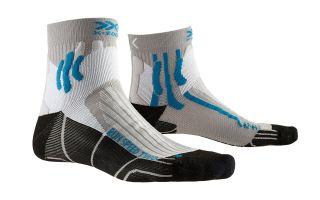 X-Socks CALCETIN RUN SPEED TWO GRIS NEGRO