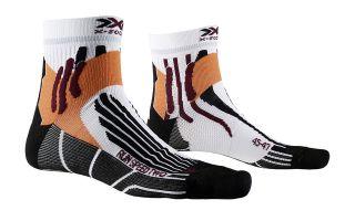 X-Socks CALCETIN RUN SPEED TWO BLANCO NARANJA