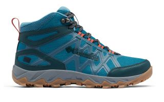 Columbia PEAKFREAK X2 MID OUTDRY AZUL GRIS MUJER 1865181317