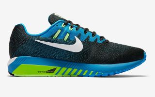 NIKE AIR ZOOM STRUCTURE 20 AZUL VERDE 849574 004