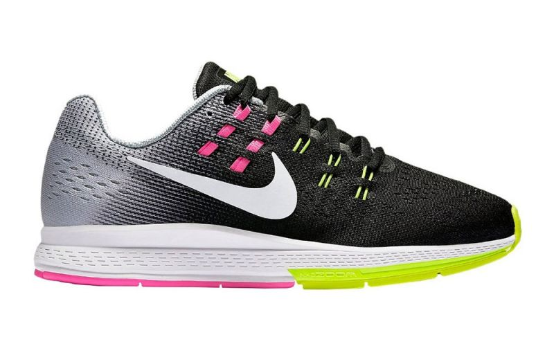 size 40 7d15c ef3d5 Nike AIR ZOOM STRUCTURE 19 WOMEN BLACK PINK 806584 009