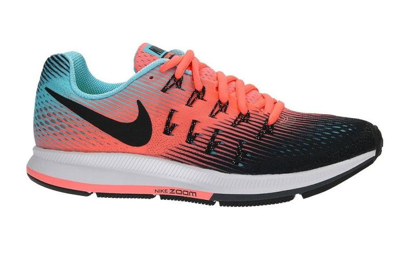 pretty nice 29bea 1d137 Nike AIR ZOOM PEGASUS 33 MUJER BLUE ORANGE BLACK 831356 005