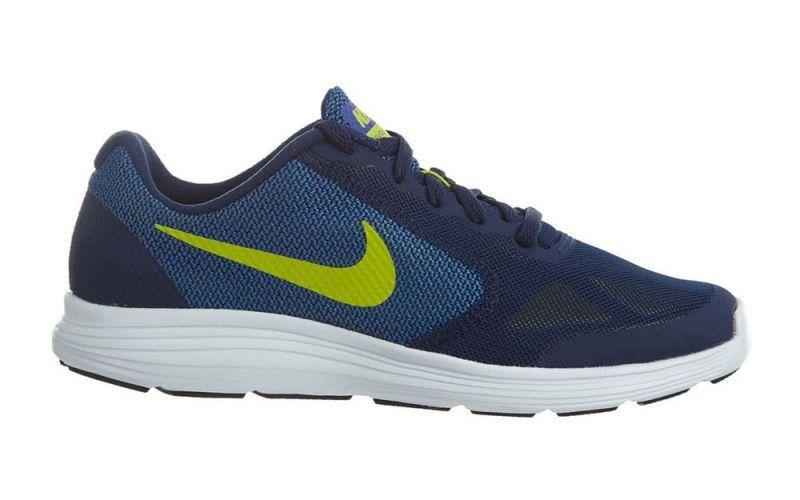 Nike REVOLUTION 3 JUNIOR BLUE YELLOW 819413 405 33f76fa99372