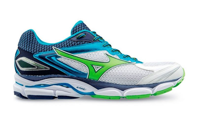 5e96fca02288e Mizuno WAVE ULTIMA 8 WHITE BLUE GREEN J1GC160941