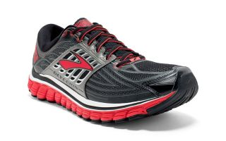 Brooks GLYCERIN 14 GRIS ROUGE - FORME ETROITE 1102361B082