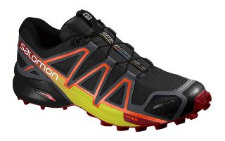 SALOMON SPEEDCROSS 4 NEGRO NARANJA 394661