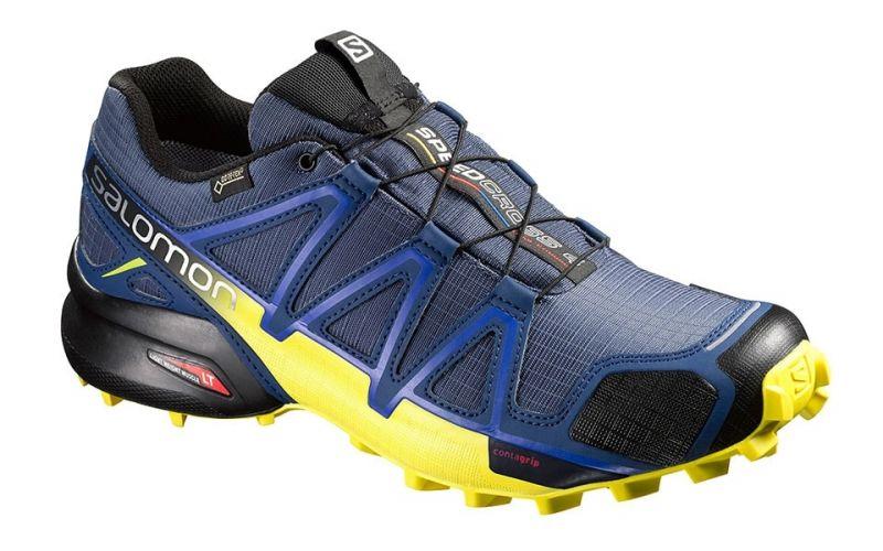 Speedcross 4 Gtx Blau Gelb 383118