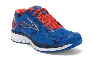 BROOKS GHOST 8 AZUL ROJO 1101981D420