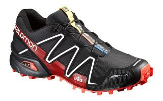 SALOMON SPIKECROSS 3 NEGRO 383154