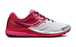 SAUCONY RIDE 9 MUJER BLANCO ROSA S103186