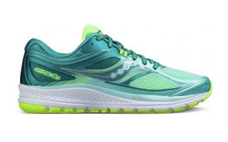 Saucony GUIDE 10 MUJER GRIS VERDE S103504