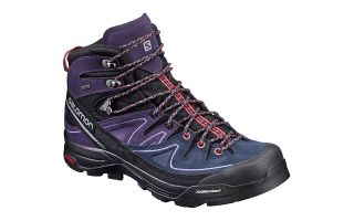 Salomon X ALP MID LTR GTX BLACK PURPLE WOMEN 391947